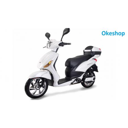 SCOOTER Z-TECH 250 W 48 V 12 AH COLORE NUVOLA elettrico con pedalata assistita