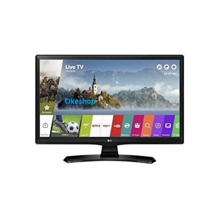"""TV MONITOR LED 23,6"""" LG 24MT49S-PZ SMART TV EUROPA BLACK"""