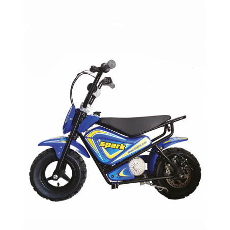 MINIMOTO ELETTRICA - NCX SPARK 250 WATT- BLU