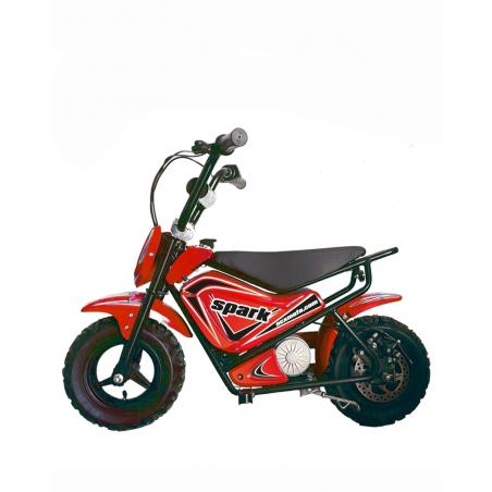 MINIMOTO ELETTRICA NCX SPARK 250 WATT- ROSSA